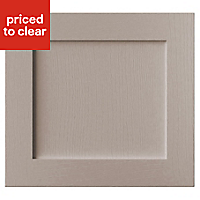 Cooke & Lewis Carisbrooke Taupe Oven housing Cabinet door (W)600mm