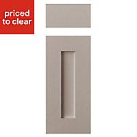 Cooke & Lewis Carisbrooke Taupe Drawerline door & drawer front, (W)300mm
