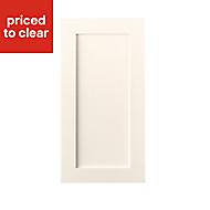 Cooke & Lewis Carisbrooke Ivory Tall standard door (W)500mm