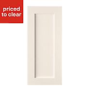 Cooke & Lewis Carisbrooke Ivory Tall standard door (W)400mm