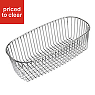 Cooke & Lewis Stainless steel Bowl basket, (W)288mm