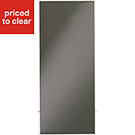 IT Kitchens Santini Gloss Anthracite Slab Tall Cabinet door (W)300mm