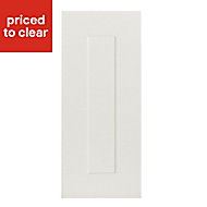 IT Kitchens Stonefield Ivory Classic Tall Cabinet door (W)300mm