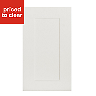 IT Kitchens Stonefield Ivory Classic Tall Cabinet door (W)400mm