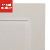 IT Kitchens Stonefield Ivory Classic Tall Cabinet door (W)600mm