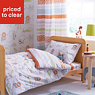 Colours Animal Friends Multicolour Single Duvet set