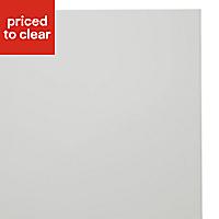 IT Kitchens Sandford Ivory Style Slab Bridging Cabinet door (W)600mm