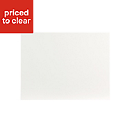 IT Kitchens Sandford Ivory Style Slab Belfast sink Cabinet door (W)600mm
