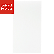 IT Kitchens Sandford Ivory Style Slab Standard Cabinet door (W)400mm