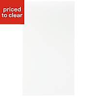 IT Kitchens Sandford Ivory Style Slab Standard Cabinet door (W)400mm