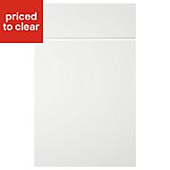 IT Kitchens Sandford Ivory Style Slab Drawerline door & drawer front, (W)500mm
