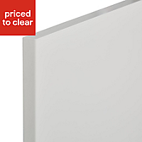 IT Kitchens Sandford Ivory Style Slab Standard Cabinet door (W)600mm