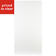 IT Kitchens Sandford Ivory Style Slab Fridge/Freezer Cabinet door (W)600mm
