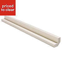 IT Kitchens Ivory Style Wall corner post, (W)51mm (H)720mm