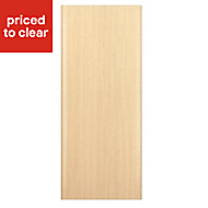 IT Kitchens Sandford Textured Oak Effect Slab Standard Cabinet door (W)300mm