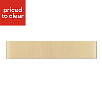 IT Kitchens Sandford Textured Oak Effect Slab Oven Filler Panel (H)115mm (W)597mm