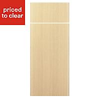 IT Kitchens Sandford Textured Oak Effect Slab Drawerline door & drawer front, (W)300mm