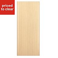 IT Kitchens Textured Oak Effect Appliance & larder Clad on wall panel (H)790mm (W)385mm