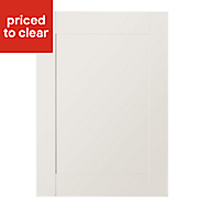 IT Kitchens Westleigh Ivory Style Shaker Standard Cabinet door (W)500mm