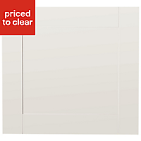 IT Kitchens Westleigh Ivory Style Shaker Oven housing Cabinet door (W)600mm