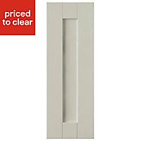 IT Kitchens Brookfield Textured Mussel Style Shaker Standard Cabinet door (W)300mm