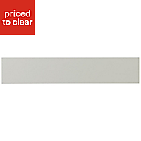 IT Kitchens Brookfield Textured Mussel Style Shaker Oven Filler Panel (H)115mm (W)597mm