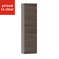 Cooke & Lewis Paolo Bodega grey Wall hung tall storage unit