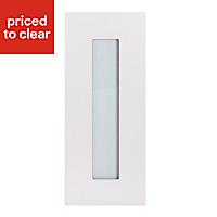 IT Kitchens Stonefield Stone Classic Glazed Cabinet door (W)300mm