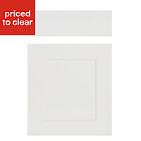 IT Kitchens Stonefield Stone Classic Drawerline door & drawer front, (W)500mm
