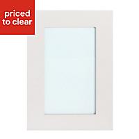 IT Kitchens Stonefield Stone Classic Tall glazed Cabinet door (W)500mm