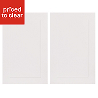 IT Kitchens Stonefield Stone Classic Tall Cabinet door (W)600mm, Set of 2