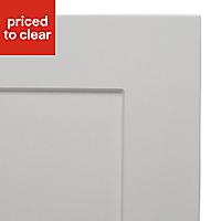 IT Kitchens Stonefield Stone Classic Fridge/Freezer Cabinet door (W)600mm