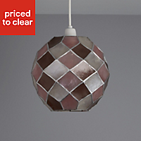 Colours Maringa Pink Diamond Light shade (D)225mm