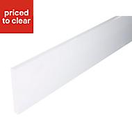 IT Kitchens White Straight Plinth, (L)2440mm
