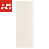 IT Kitchens Ivory Style Tall Appliance & larder Wall end panel (H)900mm (W)335mm