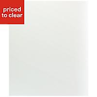IT Kitchens Ivory Style Appliance & larder Base end panel (H)720mm (W)570mm
