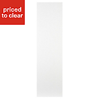IT Kitchens Ivory Style Tall Appliance & larder End panel (H)2100mm (W)570mm, Pack of 2