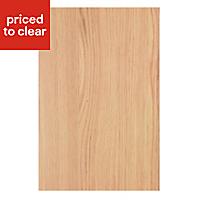 IT Kitchens Oak Effect Appliance & larder End support panel (H)890mm (W)620mm