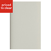 IT Kitchens Brookfield Textured Mussel Style Shaker Appliance & larder End support panel (H)890mm (W)620mm