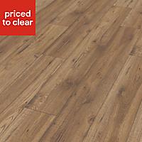 Colours Ostend Natural Oxford oak effect Laminate flooring, Sample