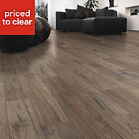 Colours Ostend Natural Ascot oak effect Laminate flooring, Sample