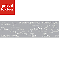 Baby Colours Little wish Border