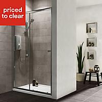 Plumbsure Shower door with Single sliding door (W)1200mm