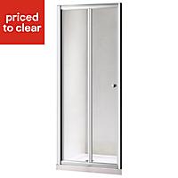 Plumbsure Shower door with Bi-fold door (W)800mm