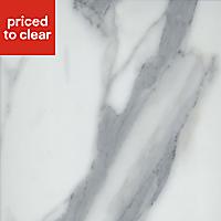 38mm Marble Veneto Brown Granite effect Laminate Round edge Kitchen Worktop, (L)3000mm