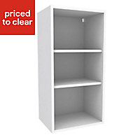 Cooke & Lewis White Tall Standard Wall cabinet, (W)450mm