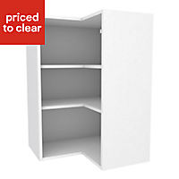 Cooke & Lewis White Tall Corner Wall cabinet, (W)625mm