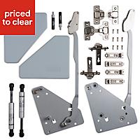 Cooke & Lewis B4 Soft-close Frameless Bi-fold cabinet hinge, Pack of 2