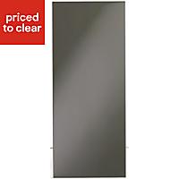 IT Kitchens Santini Gloss Anthracite Slab Appliance & larder Wall end panel (H)720mm (W)290mm
