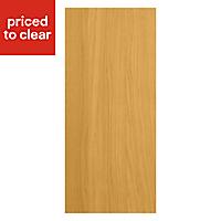 IT Kitchens Solid Oak Style Appliance & larder Deep wall end panel (H)720mm (W)335mm